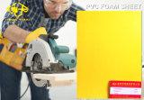 Het gele Blad van het pvc- Schuim voor het Vakje van de Lamp