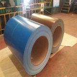 Покрынный цвет гальванизировал стальное конструкционные материал стального листа катушки PPGI