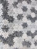 꽃 디자인 대리석 모자이크 벽 벽 예술 도와