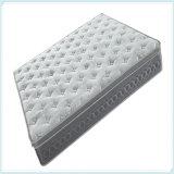 Venta al por mayor de gama alta del colchón de la espuma de la memoria del resorte del bolsillo del receptor de papel del sueño de la capa doble