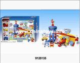 De plastic Auto van de Misvorming van het Speelgoed met Parkeerterrein (9125140)