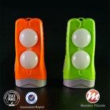 El ahorro de energía de plástico ABS de alta potencia con linterna LED