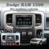 Carplay Android 7.1/1.6 GHz alquiler de DVD GPS para Dodge Ram 1500 Car Audio Player.