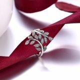 925 순은 플랜트 모양 아름다운 서쪽 반지 형식 보석