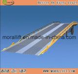 12T rampa de contentores móveis Hidráulico com marcação CE