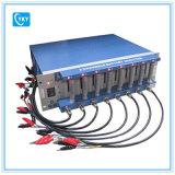Анализатор батареи 8 каналов (0.005 -1 mA, до 5V) с регулируемыми держателями компьтер-книжкой & средством программирования клетки
