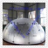 Heißes Betätigenhalbe Stahlkugel angerichtetes Ende für Druckbehälter