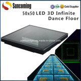 新しいArrival 50X50cm Portable Infinite LED Dance Floor