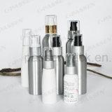 Kundenspezifische kosmetische Aluminiumflasche mit Puder-Lotion-Pumpe (PPC-ACB-006)