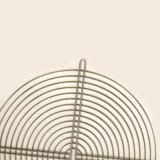 Niedriger Preis-Metallineinander greifen-Draht-Rasterfeld mit Puder beschichtete
