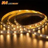 Doppio indicatore luminoso di striscia luminoso eccellente di Epistar SMD3528 LED di colore per uso dell'interno