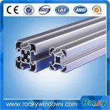 Felsiges industrielles Aluminiumprofil mit unterschiedlicher Oberflächenbehandlung