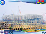 Edificio prefabricado de la estructura de acero para la gimnasia (FLM-024)