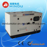 Type silencieux/écran générateur diesel avec l'ATS