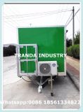 Aliments de préparation rapide Van de camion mobile de restaurant de qualité à vendre