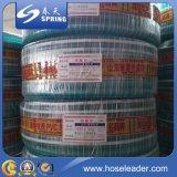 Boyau tressé flexible de l'eau de jardin de PVC de qualité