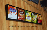 Caixa de luz LED com restaurante Fast Food Menu Board