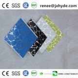 Modèle en bois de la plastification panneau PVC PVC Panneau au plafond et panneau mural (Rn-184)