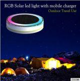 移動式充電器の多彩な太陽テントライト緊急事態のための太陽庭ライトが付いている太陽キャンプライト