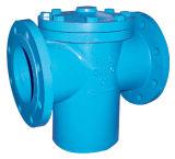 Стрейнер утюга чугуна дуктильный для обработки сточных водов
