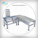 Automatische Verpackungs-Nahrungsmittelzeile Förderanlagen-Gewicht, das Maschinenprüfwäger sortiert