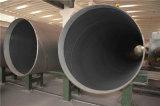 El tubo de acero del este 3PE cubierto vio el tubo de acero