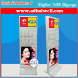 Digital Signage LCD Screen Free Mobile Phone Charging Station
