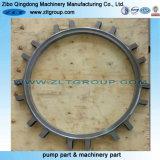 Kundenspezifischer Edelstahl-Ring für das Aufbereiten des maschinell bearbeitenteils mit Poling Sand-Böe