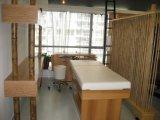 Eenvoudig houten Massage Beauty Bed Salonmeubilair
