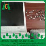 보통 슬롯 MDF/또는 나무 Veneer/PVC /HPL/UV/Melamine는 MDF와 HDF 널을 박판으로 만들었다