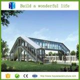 Constructions ondulées célèbres de structure métallique de modèle de construction