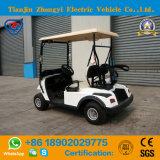 セリウムおよびSGSの証明のリゾートのための熱い販売の高品質2のシートの電池のゴルフカート