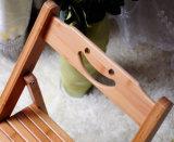 タケ木製の折りたたみ椅子の現代食事の椅子のコンピュータの椅子(M-X2026)
