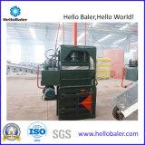 Máquina de embalaje vertical hidráulica para el plástico de papel Vm-1