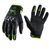 La fibra verde del carbonio di qualità mette in mostra i guanti per il cavaliere del motociclo (MAG13)