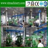 1t-1.5т/час, постоянный выход, автоматическое управление дерева пресс-гранулятор производственной линии