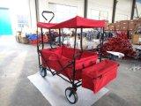 غنيّ بالألوان يطوي عربة/حامل متحرّك لأنّ صيد سمك أو تسوق