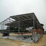 Construção de Estrutura de Aço para Aplicação Industrial