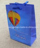 Bolsa de papel certificada Fsc del regalo de las compras de la impresión