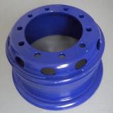 Bordas de aço da roda da câmara de ar do caminhão para o barramento/reboque (6.00G-16, 8.00V-20, 8.5-20)
