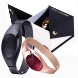 Bracelet intelligent neuf élégant de Bluetooth avec le moniteur du rythme cardiaque (Z18)