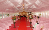 Tente blanche de décoration romantique de mariage grande
