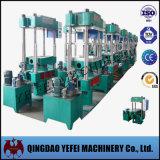 Machine en caoutchouc de moulage par compression de quatre fléaux avec le contrôle automatique d'AP