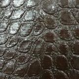 石造りパターン、車の床のマット、最下の革、PVC革