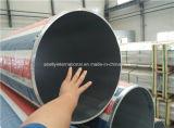 600mm de diamètre extérieur de tubes en aluminium extrudé