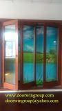 Couche en aluminium de poudre de porte de pli de Bi d'interruption thermique, portes populaires de Foulding avec la bonne qualité et prix raisonnable