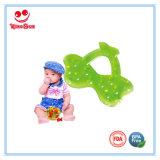 Bebê Teether enchido água da forma da fruta para o bebê do Teething