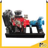 깨끗한 물을%s 디젤 엔진 움직일 수 있는 원심 흡입 펌프