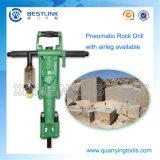 Vendite che estraggono la perforatrice da roccia pneumatica del martello della mano