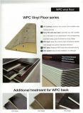 ビニールPVCフロアーリングかPVC木製のプラスチック橋床シートをかみ合わせるCommericalのビニールのフロアーリング